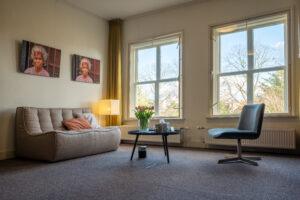 Praktijkruimte haptotherapie Winnniefred Wellenberg